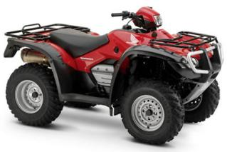 Honda ATV Specifications