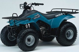 Update Inspired  suzuki quadrunner 160